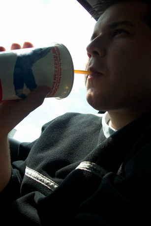 no co k ni rict..coca cola s mcdonalda...PS:maj tam strasne slany hranolky tak je nejezte radsi