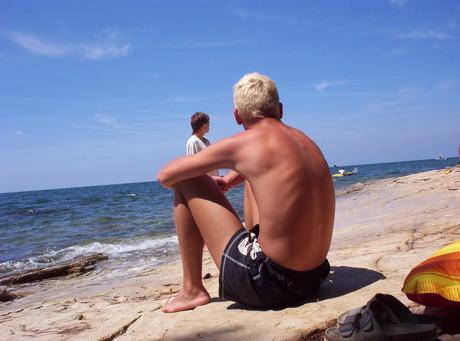 Zhewl na plazi!!!