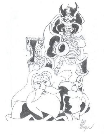 Další fantasy kresba v mém podání ;o)