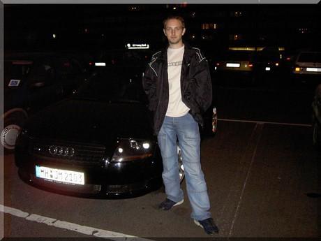 u Audi TT cabrio...