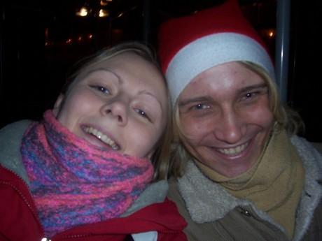 Luculka a já ve vánoční náladě :o)