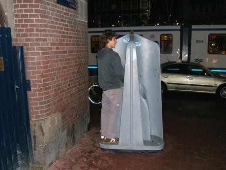 Dá se tam chcat na ulici borci! - Amsterdam