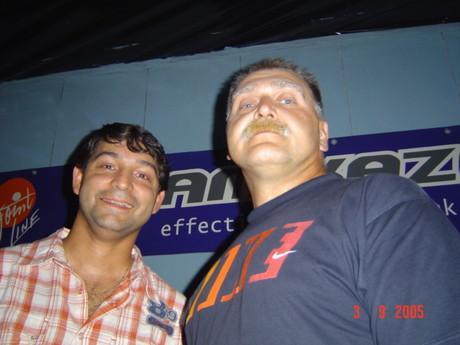 Mí kamarádi DJ-Honza a Jarda