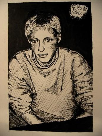 Moje kresba č.3 - Sniko