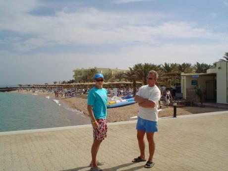 S tátou na pláži!5!