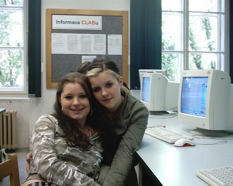 já a Lůca v prváku na IKT:D