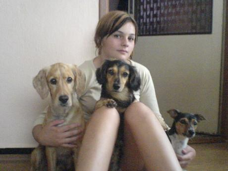 Endy,Cassinka,Ťapka a moje úžasná sestřenka Jolča