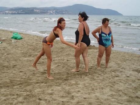 ....odpolední pohoda na pláži...