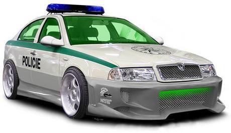 Nové auto Policie...? Že by byli taky příznivci Tuningu?