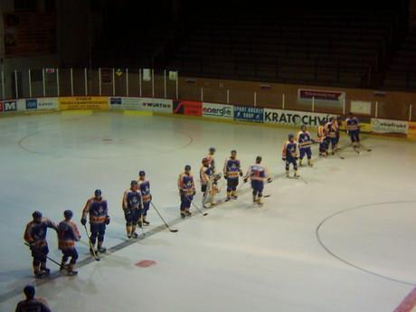Tentokrát klášterečtí hokejisté zavítali do Slaného :-)