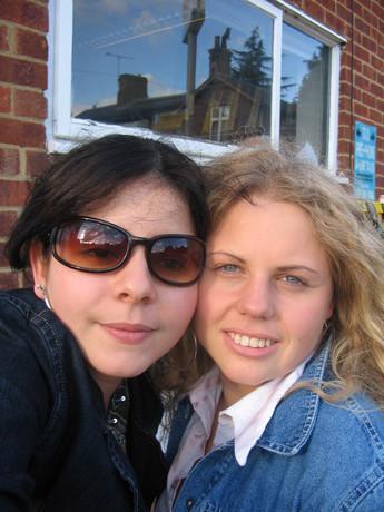 Meu irma e eu:-) .....Já a Grazy....nerozlučná dvojka.....!5!