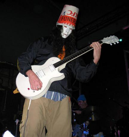 Buckethead...ex Guns N'Roses