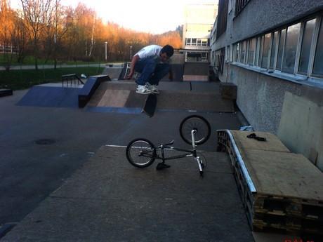 Yes Zupa....Kino   pres bike