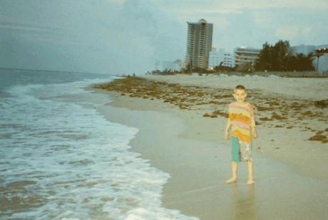 Miami Beach!!!! Jedna z nej pláží na světě!! Můj první pobyt u moře a hned ve velkém stylu. Vedra ale přehnaný (Jaro 1996) !647!!647!