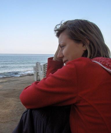 Jééé...tak takhle vypadám ráno po spaní pod širákem přímo na pláži...krása!!!!944!