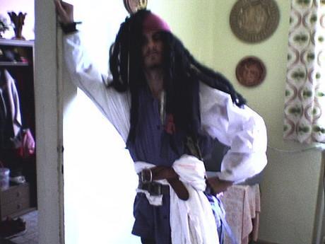 Captain Jack Sparrow .... savvy!!!