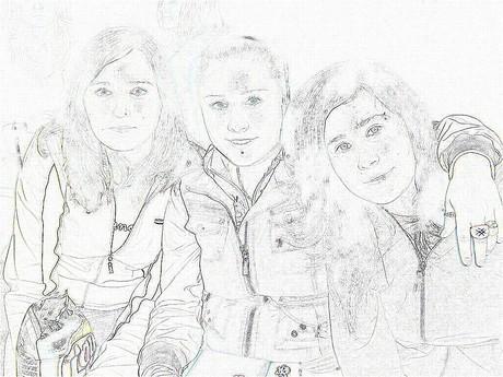 Jitka,sestra, já- kresba tužkou!1337!