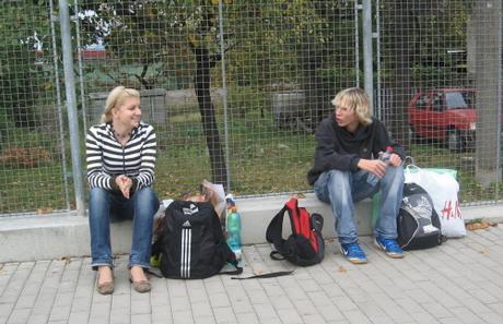 S bráškou v Zábřehu nám trosku ujel autobus tak jsme museli cekat na dalsi!2! Ale jinak to byl bezvaaaa vylet !1219!