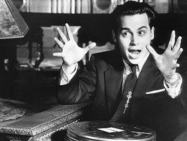 Johnny Depp ve filmu Ed Wood. !1233!