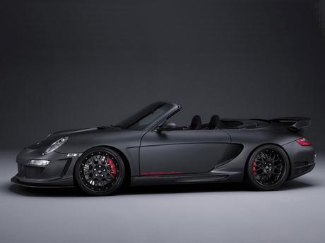 Roadster Porsche GT Gemballa z boku