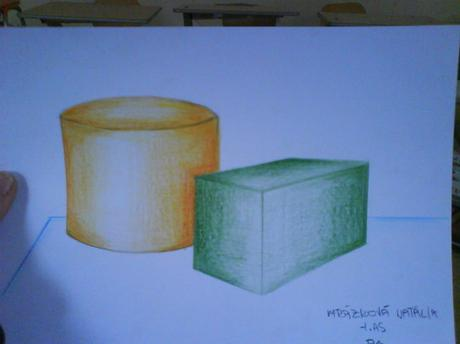 valec a kvader v propozicnim kresleni....zobrazit predmnety tak jak to v sutecnosti je:--(plus valeerova kresba