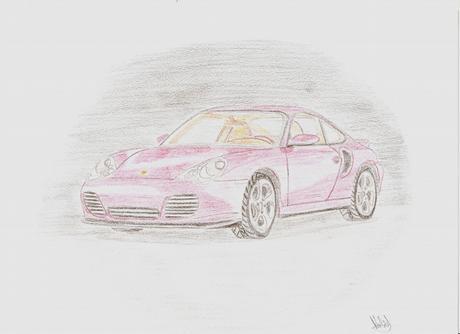 Porsche pro Martinku (upe nej kámošku-moji sestřičku)