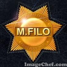 můj odznak u policie