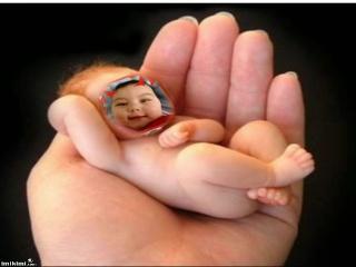 little cuite heart baby