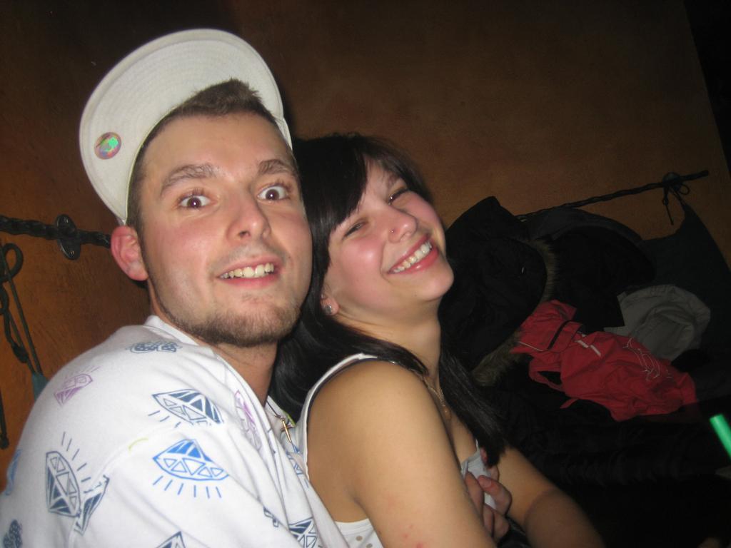 Jamess s jeho přítelkyní