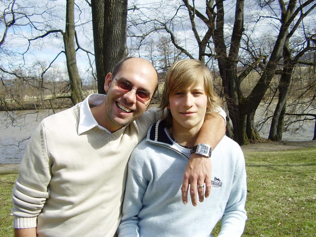 já s tátou v Klášterci na první jarní den