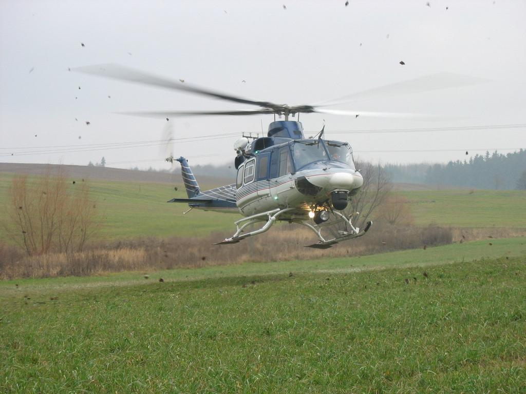 policejní vrtulnik