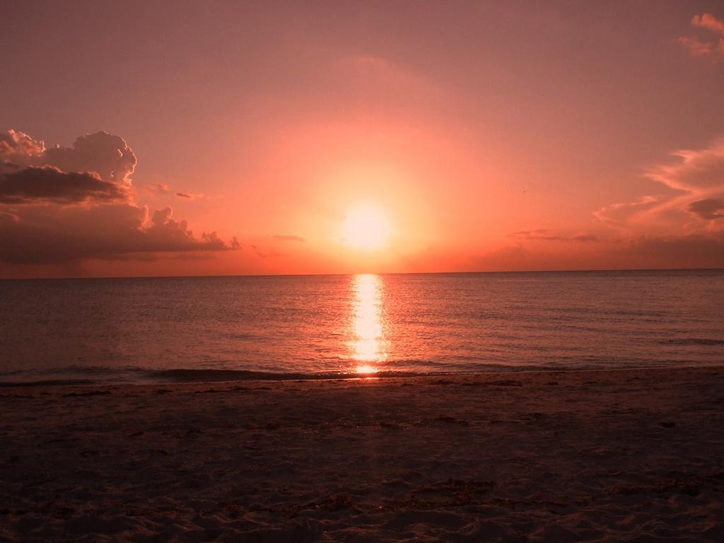Západ slunce, jj to je romantika !992!