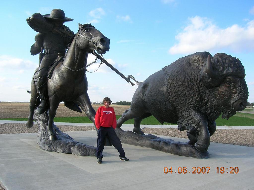 ja a buffalo bill(jeste kdyz sem byl v kansasu)