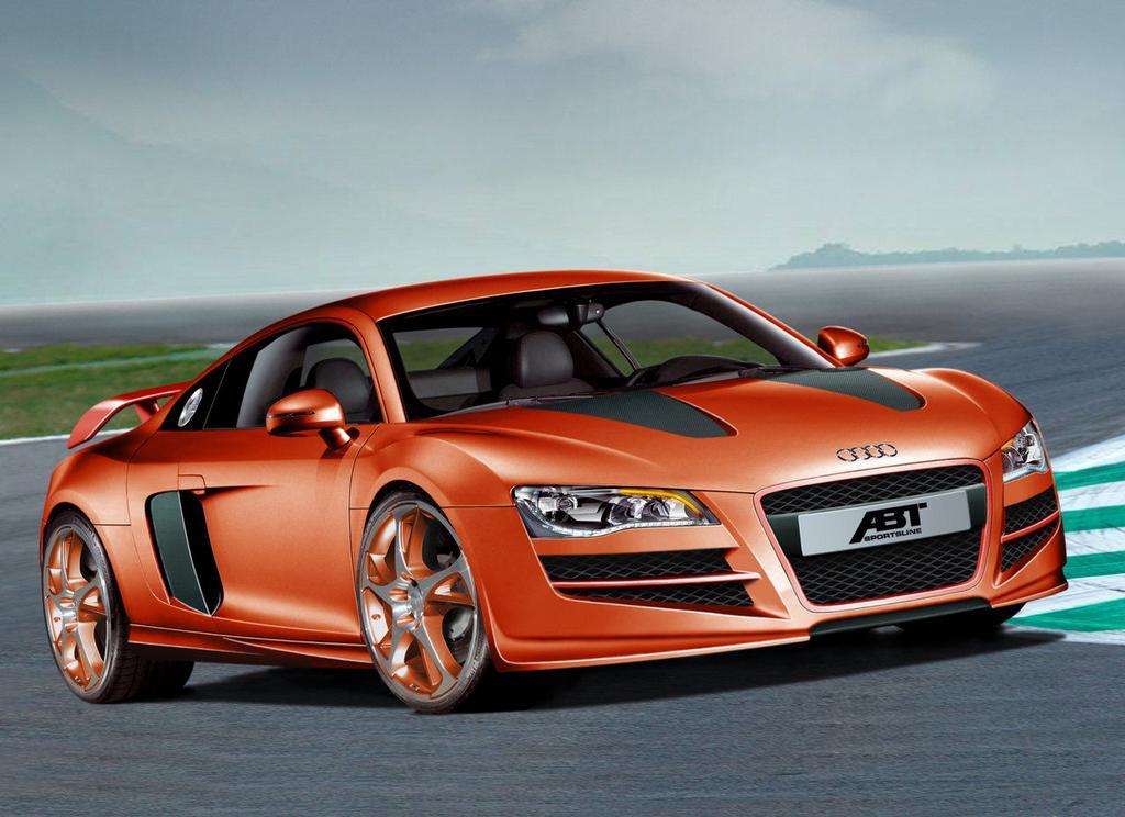 Audi R8... jéééé