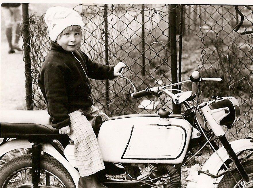 jo, motorky ...ty mě braly už od mala...