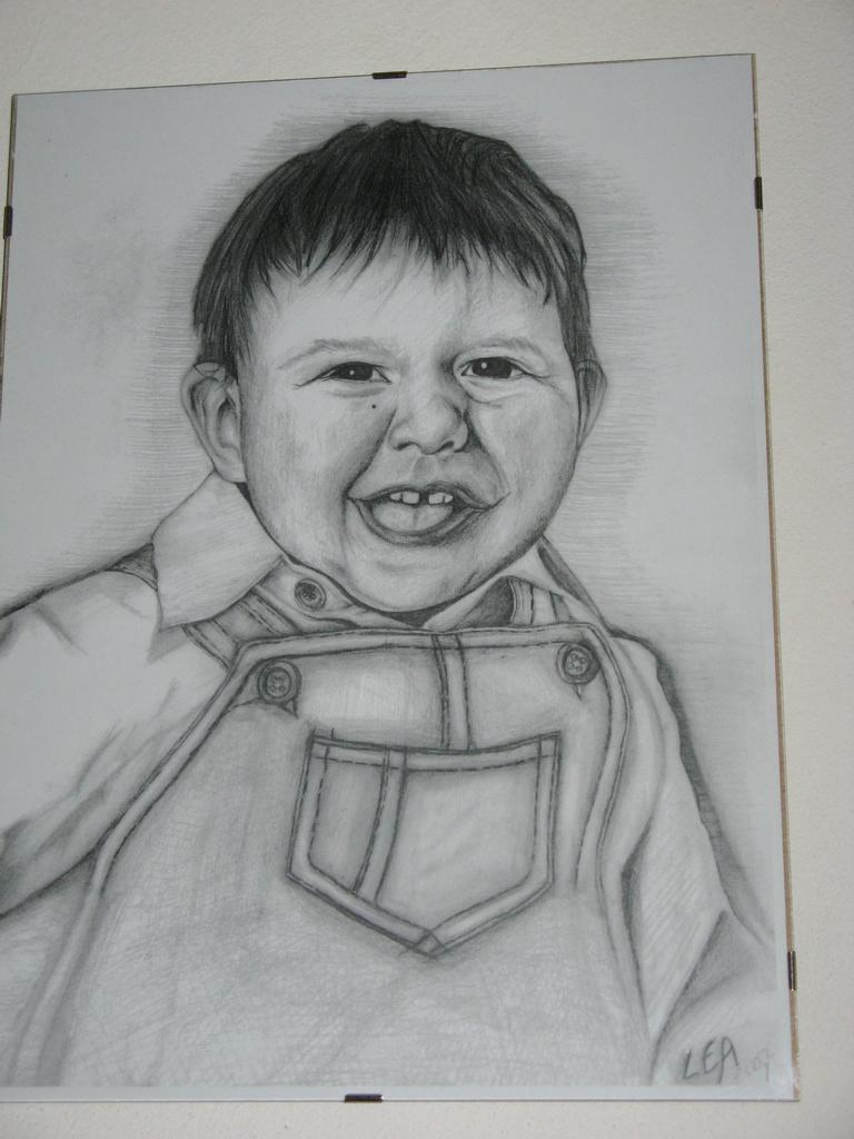 portrét kresba moje.