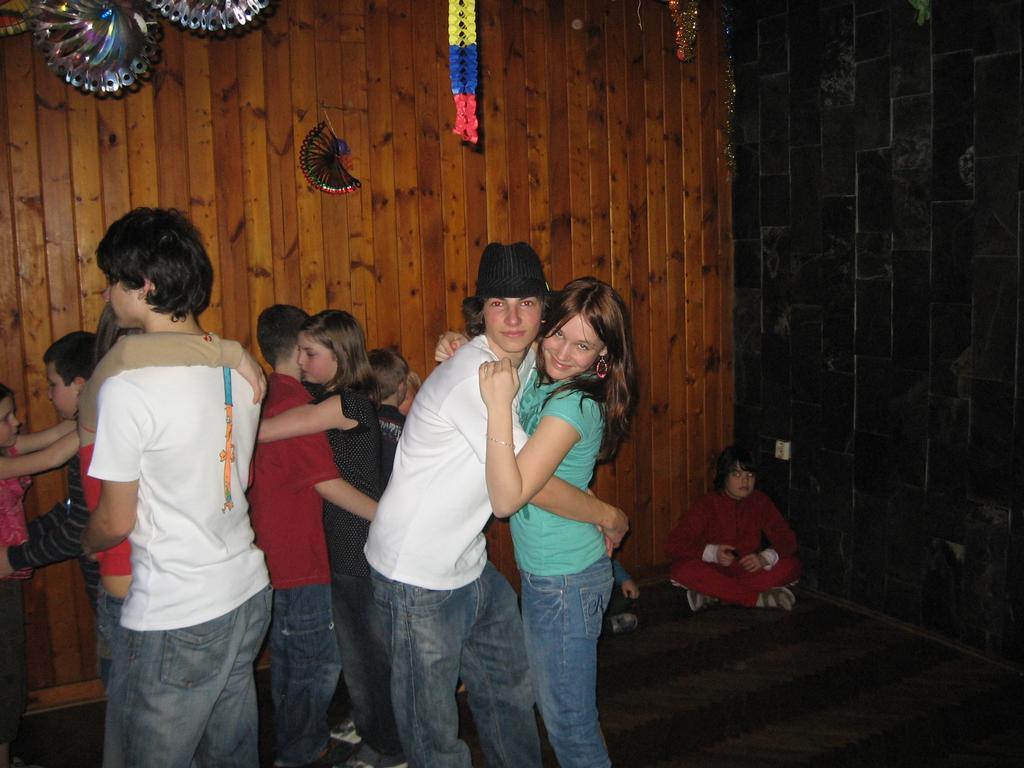 Já a Bára snažil sem se tancovat !2!