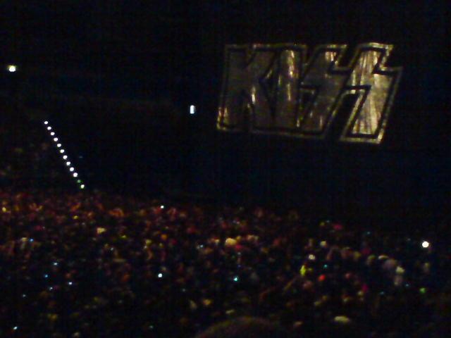před začátkem v  O2 areně