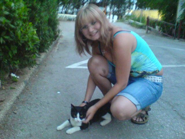 s kočičkou v chorvatsku !1!