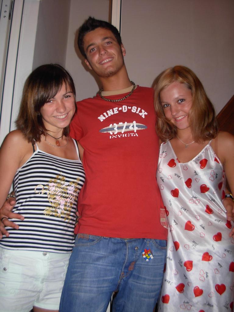 lucik, dominiko and me....