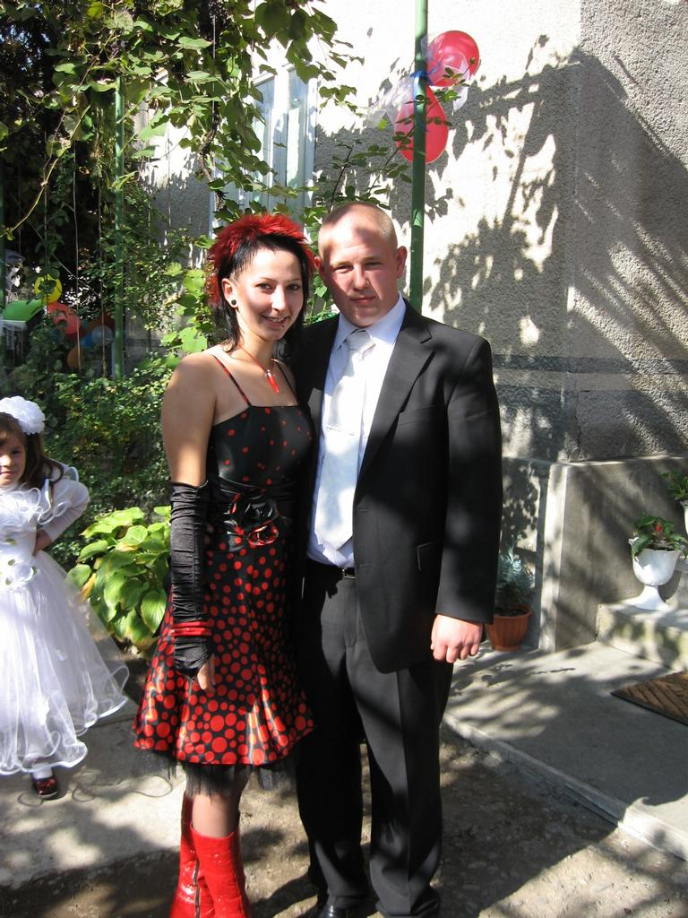 na UKR bratranek sa ženil