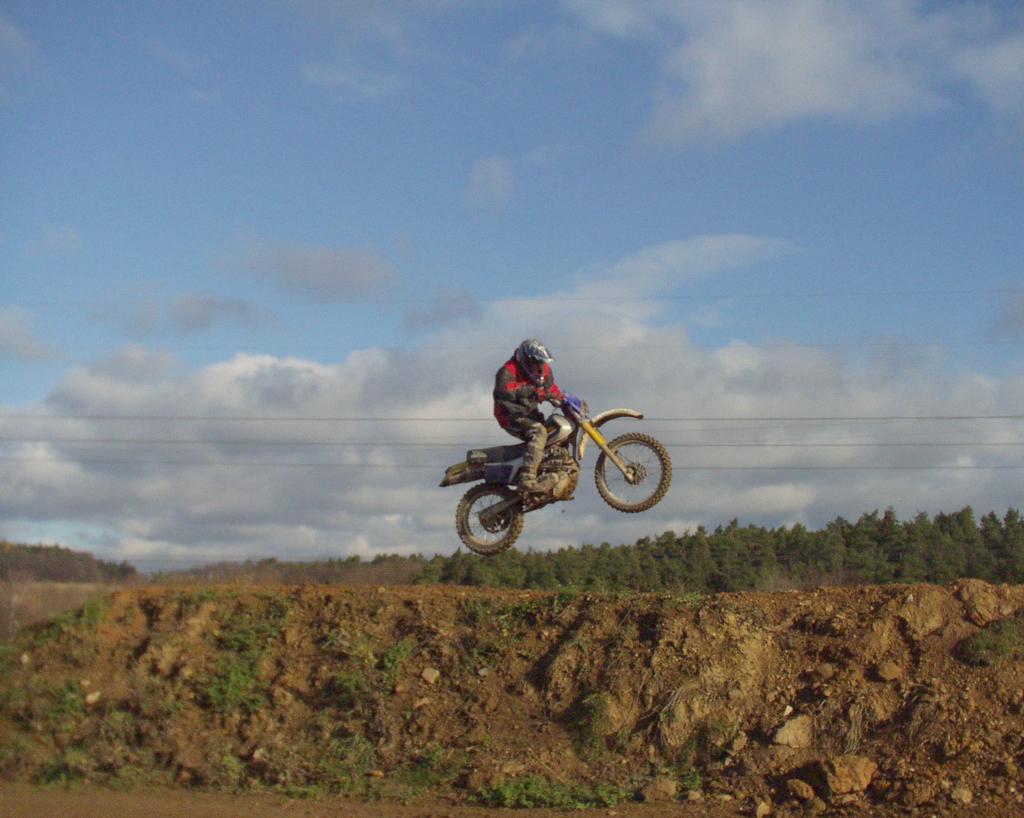 zpátky na motocrossu