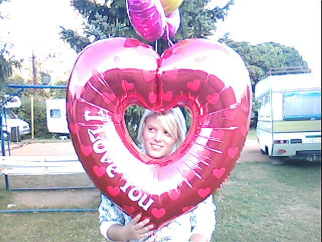 s balonkem na dostavniku :D