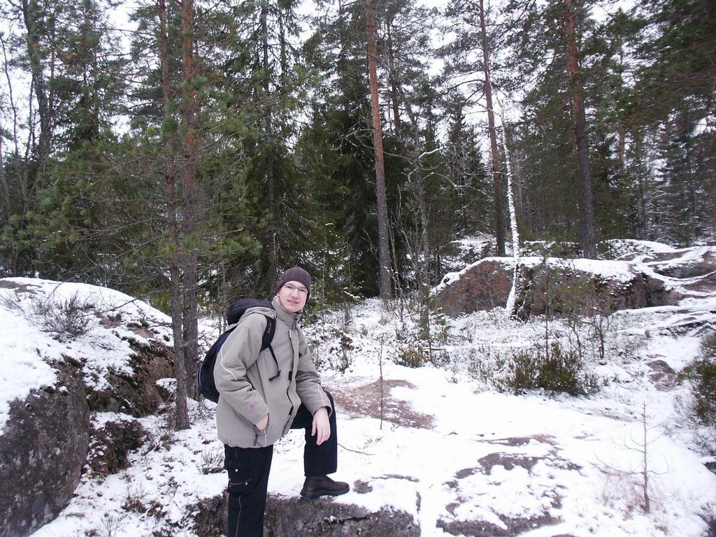 Park Nuuksio (opět Finsko)