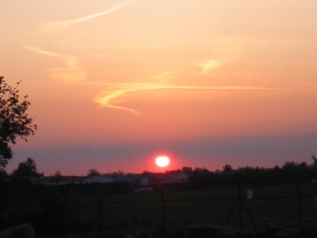 krásné ranní probuzení