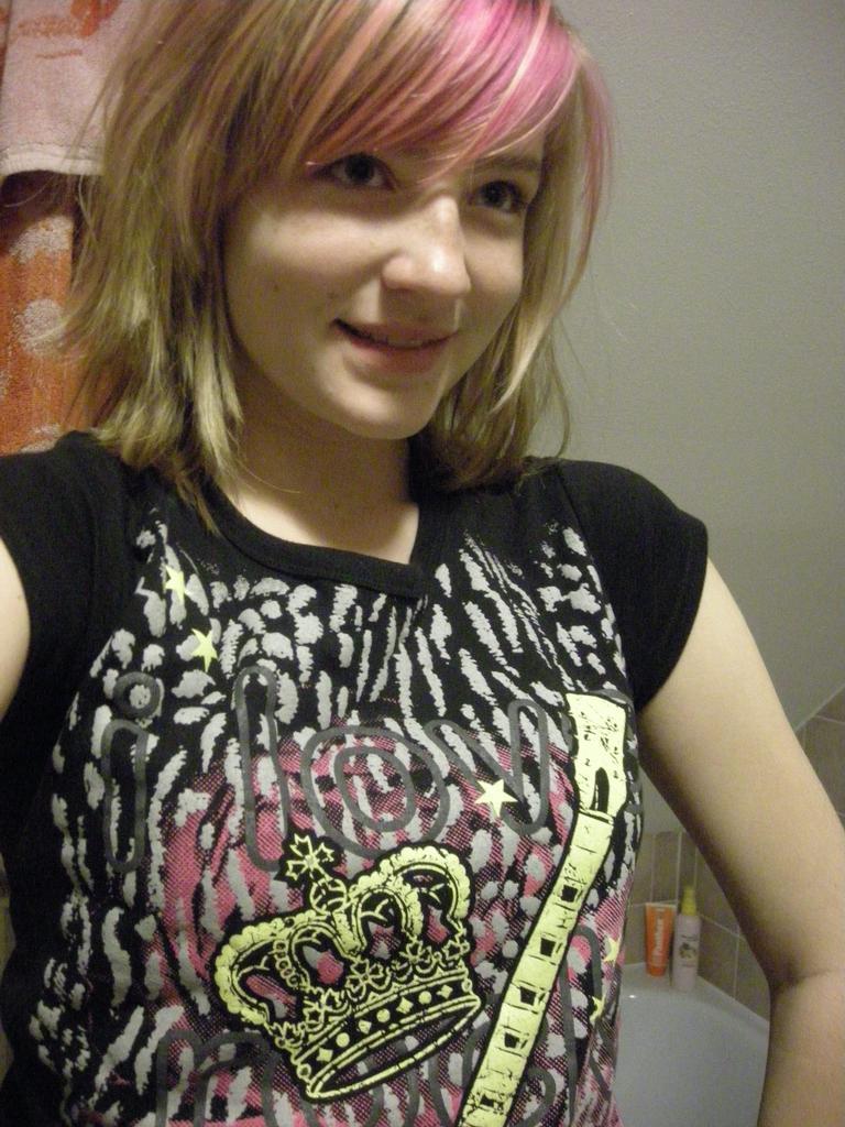 Moje RnR tričko, žhe Káji  !11!
