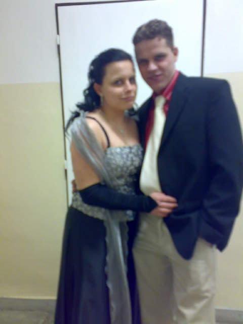 S bráchou na plese 2009  !1283!