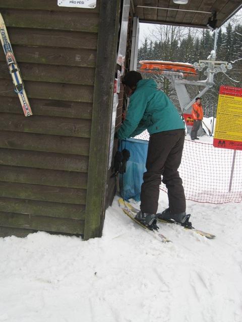 pro změnu na lyžích