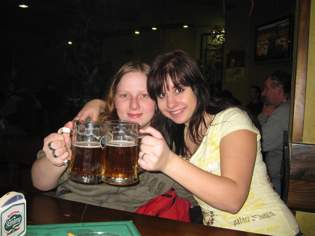 ja s petulkou:)pivecko na zdravííí:)