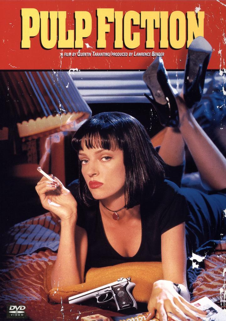 Pulp Fiction: Historky z podsvětí.  Klasika největsiho kalibru vypustena z hlavy Quentina Tarantina. Neuveritelne zabavny a akcni film. Vrele doporucuju  !1! CSFD-92% IMDB-89%